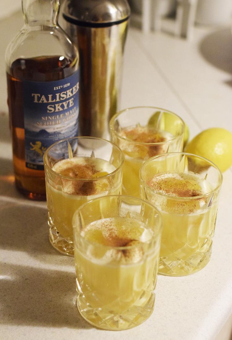 cinnamon-sour-whisky-whiskey-talisker-skye-missjeanett-jul