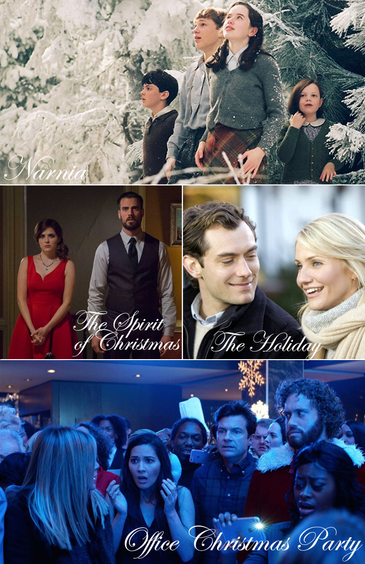 julefilm-paa-netflix-viaplay-narnia-the-spirit-of-christmas-the-holiday-office-christmas-party