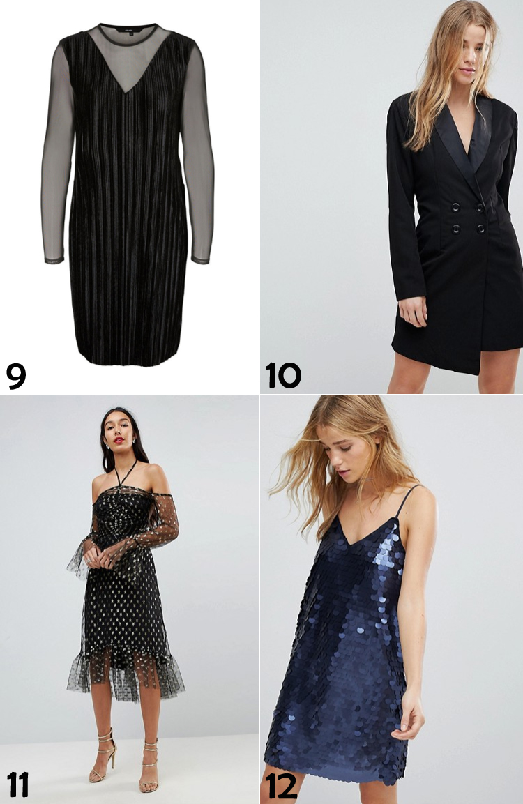 nytaarskjoler-kjoler-til-nytaarsaften-missjeanett-vero-moda-asos-stjerner-med-print-mesh-blazer-kjole-90-er-stil