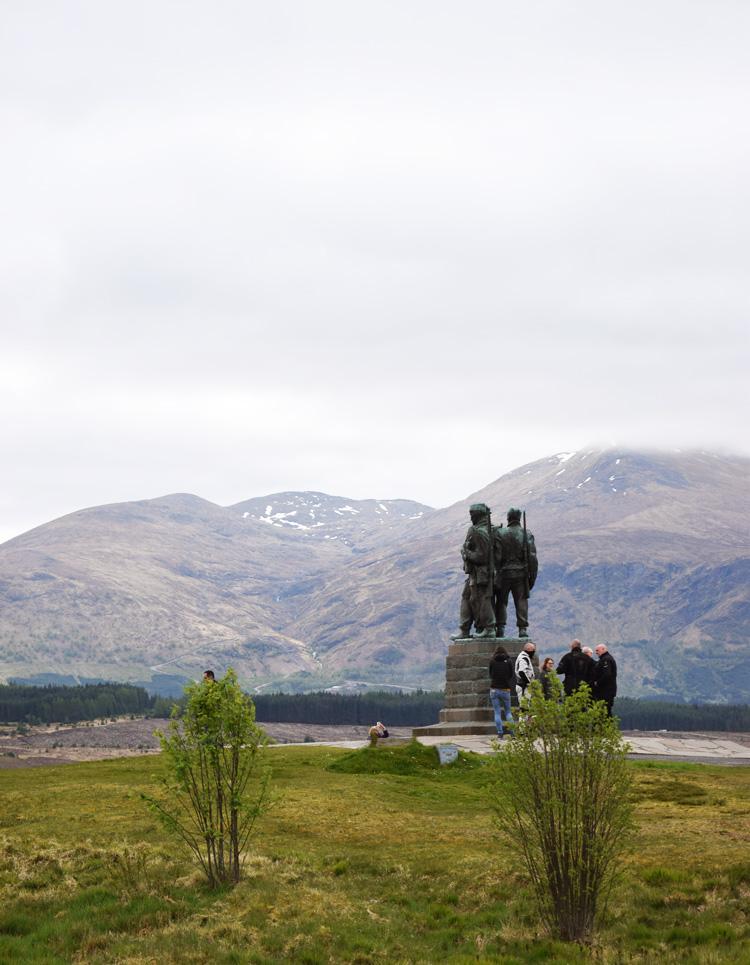 Commando memorial - Ferie i Skotland