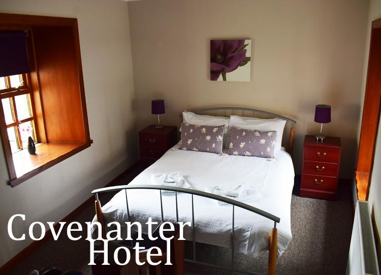 Covenanter Hotel in Falkland - Outlander locations