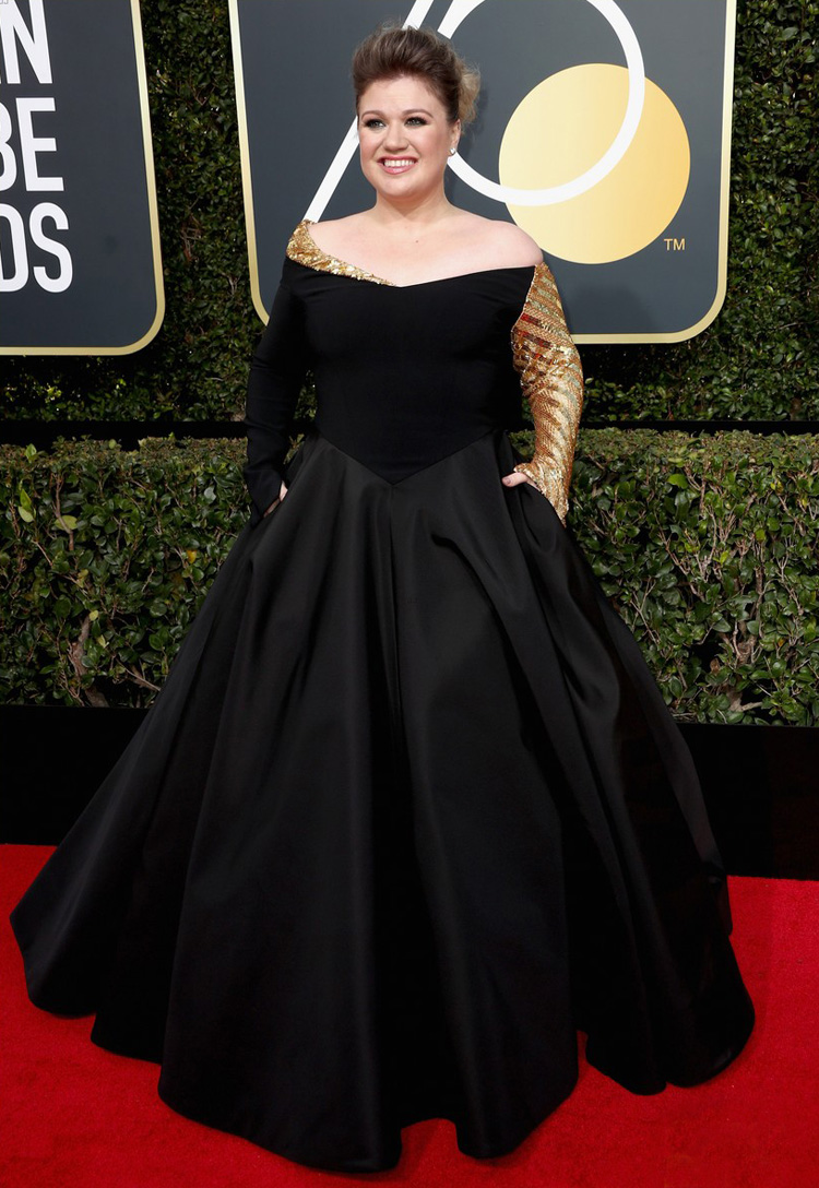 kelly-clarkson-golden-globes-2018-red-carpet-worst-dressed