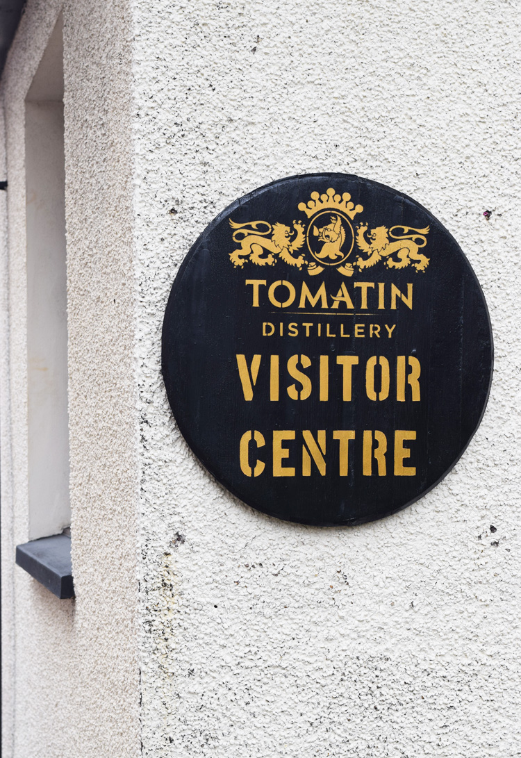 Tomatin Distillery - Road trip i Skotland