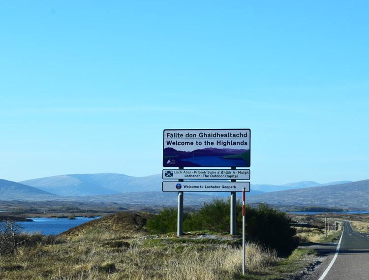 Welcome to the Highlands - Ferie i Skotland