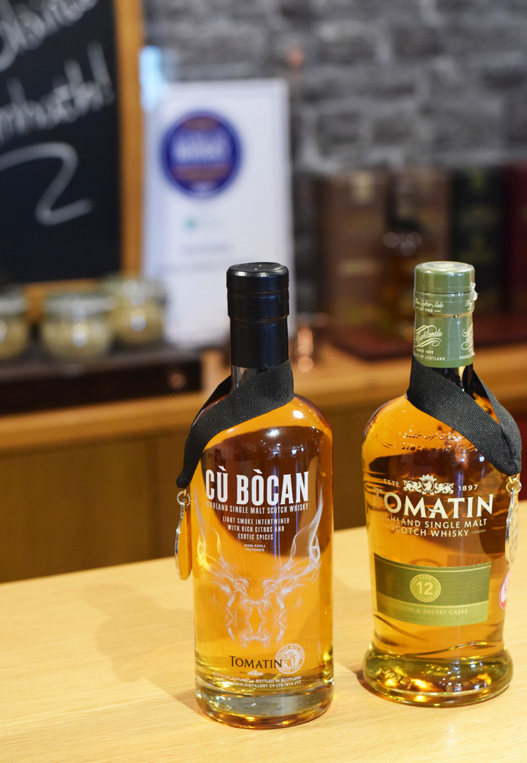 Scottish food - Tomatin whisky