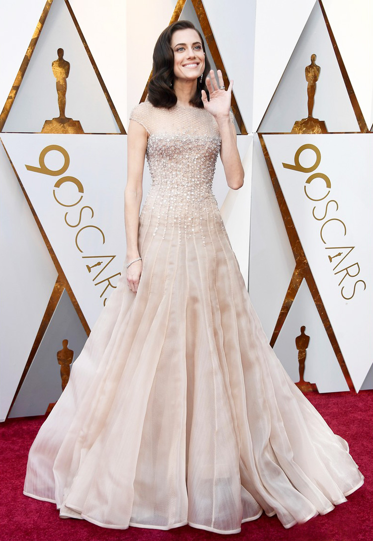 Allison Williams - Oscars 2018 red carpet