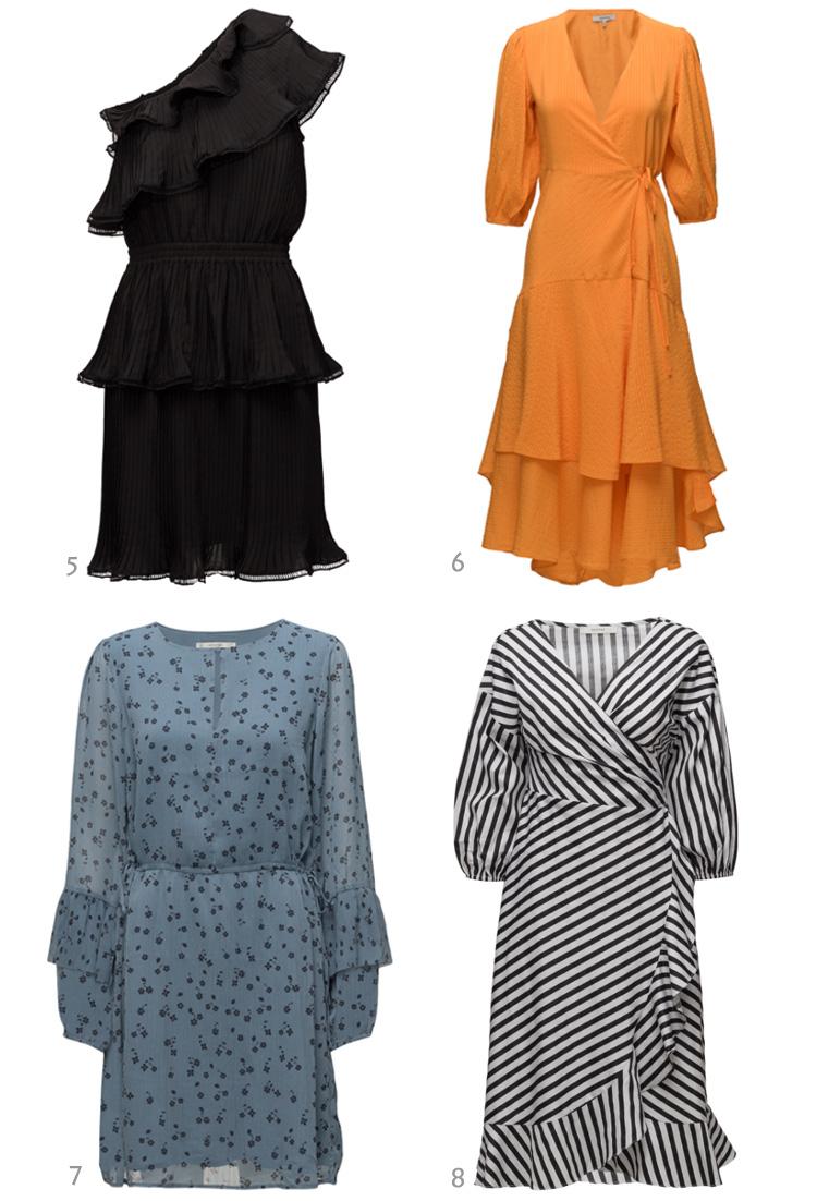 Kjoler til bryllupsgæster - festkjoler