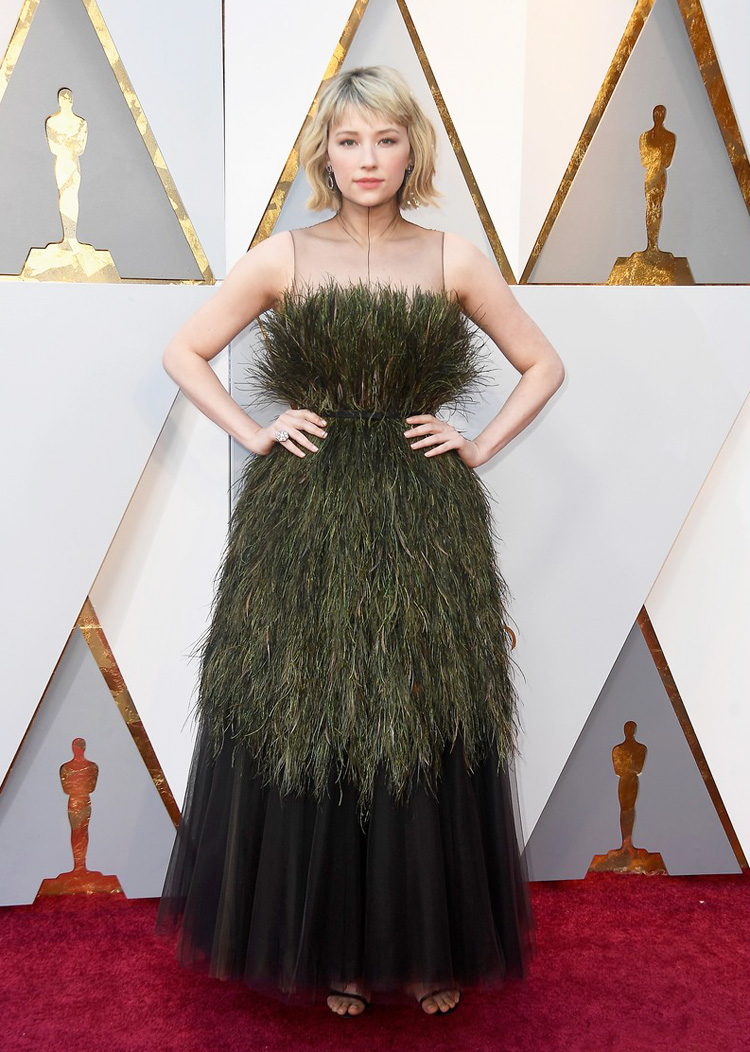 Haley Bennet - Oscars 2018 worst dressed
