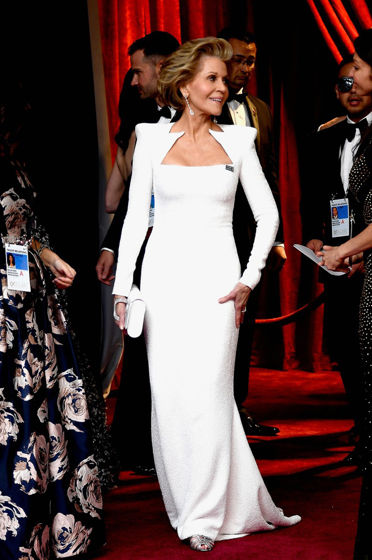 Jane Fonda - Oscars 2018 red carpet