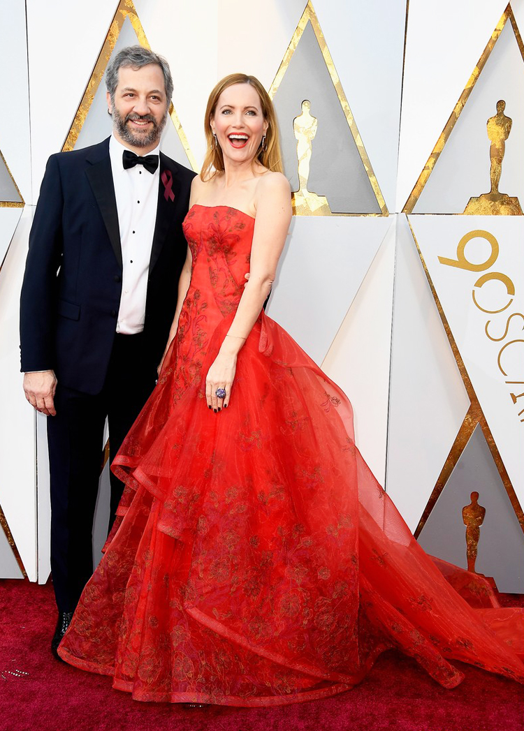 Leslie Mann - Oscars 2018 red carpet