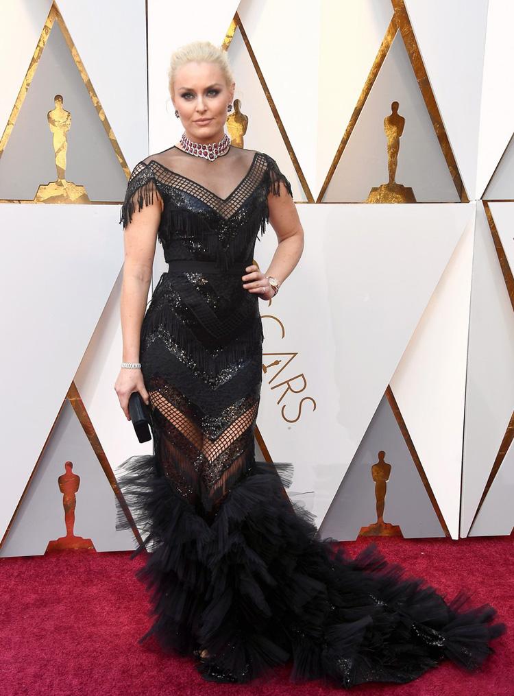 Lindsey Vonn - Oscars 2018 worst dressed