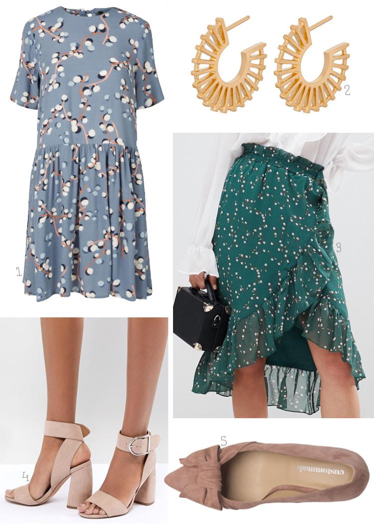 Y.A.S. kjole - Pernille Corydon øreringe - Costumemade sko med sløjfe