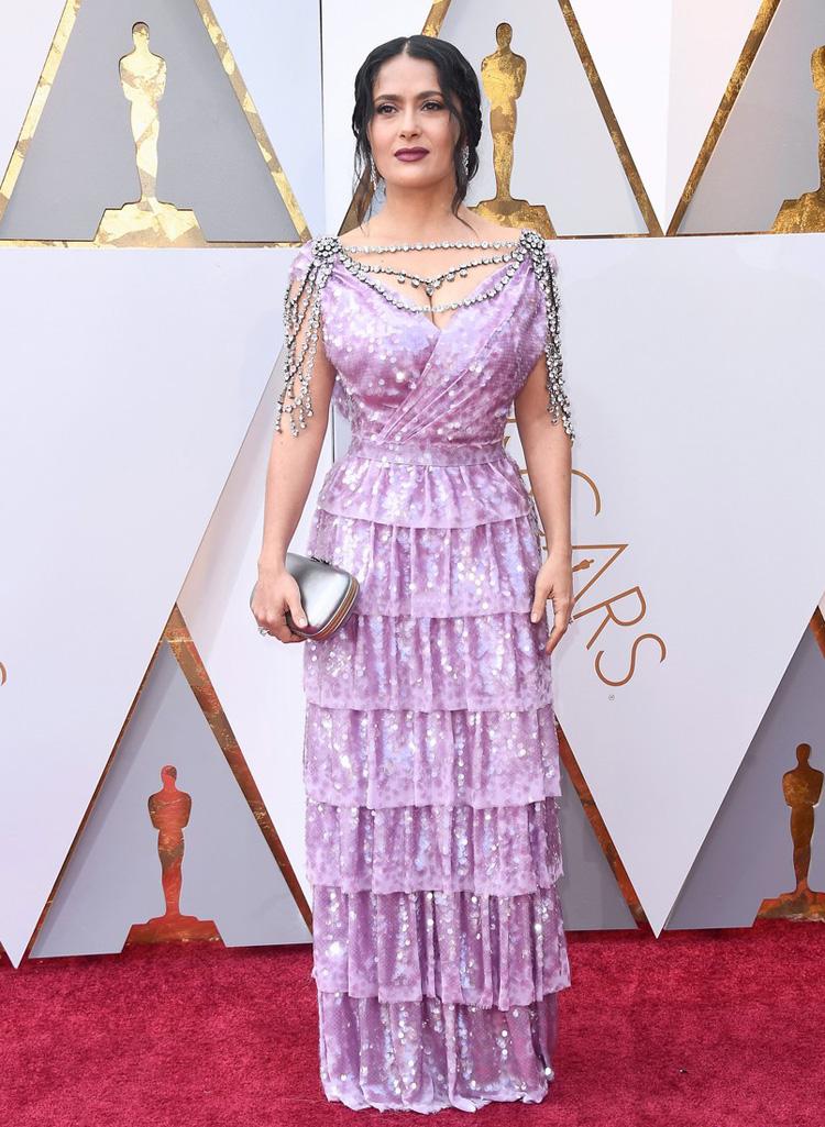 Salma Hayek - Oscars 2018 worst dressed