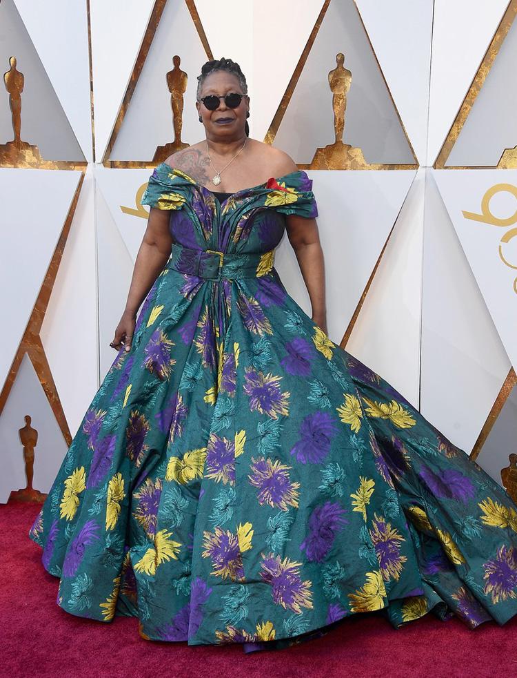 Whoopi Goldberg - Oscars 2018 worst dressed