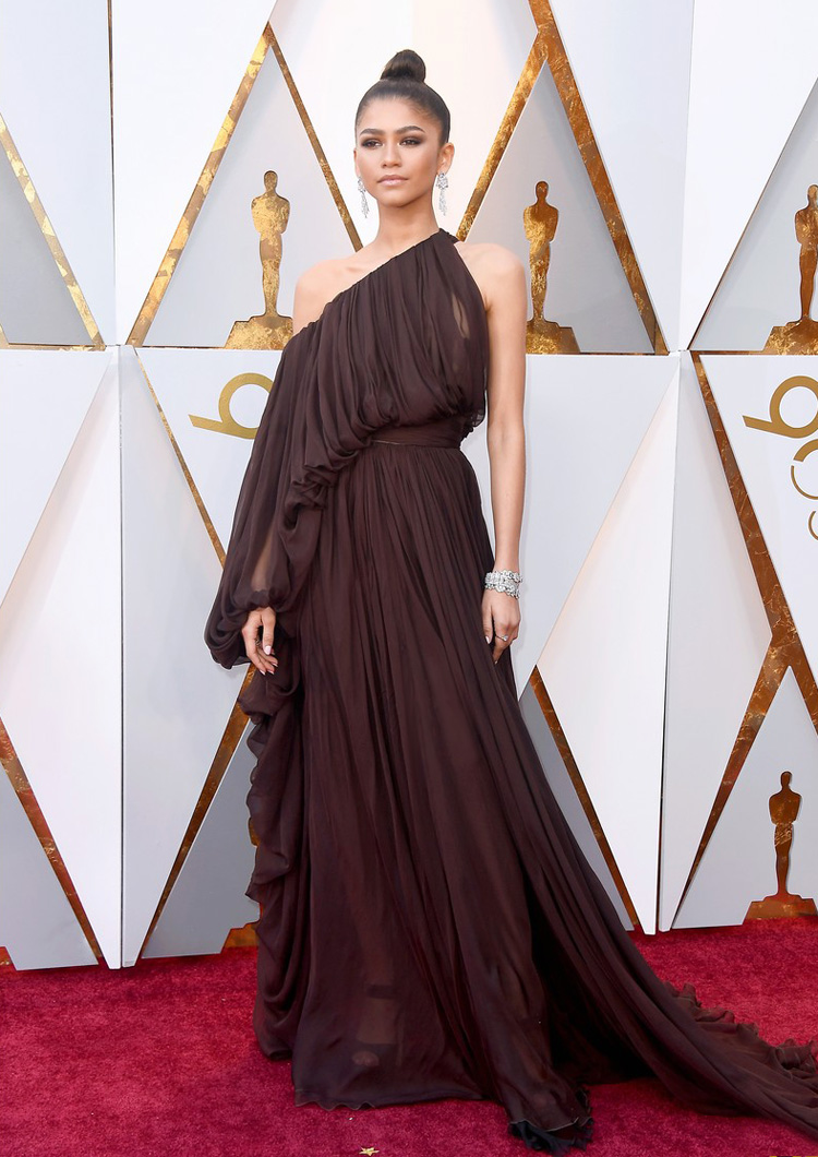 Zendaya The Greatest showman - Oscars 2018
