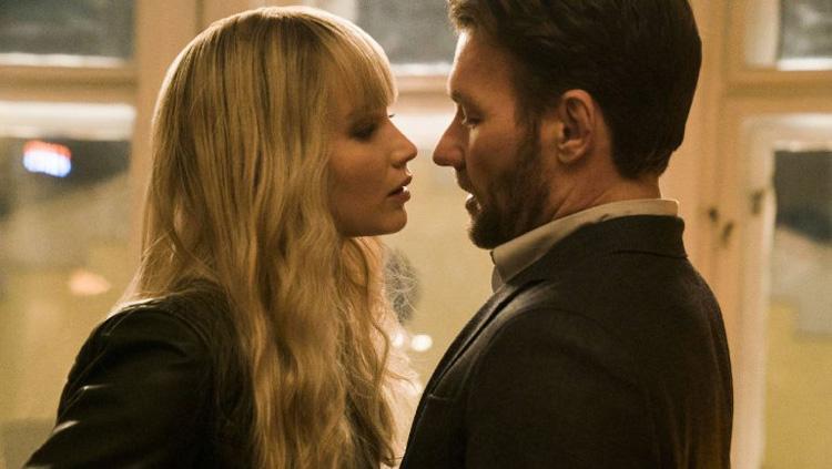 Red Sparrow - Spy Movies - Jennifer Lawrence