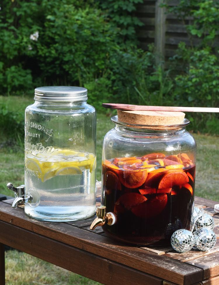 Havefest - drinks sangria opskrift