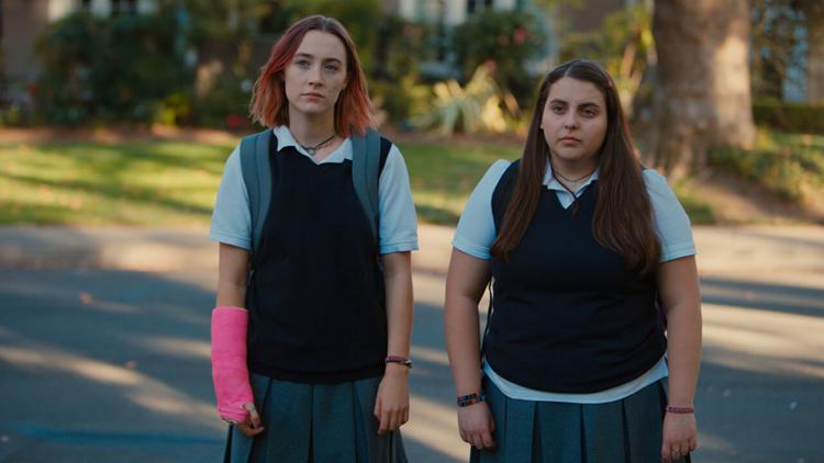 Lady Bird - Saoirse Ronan filmanmeldelse