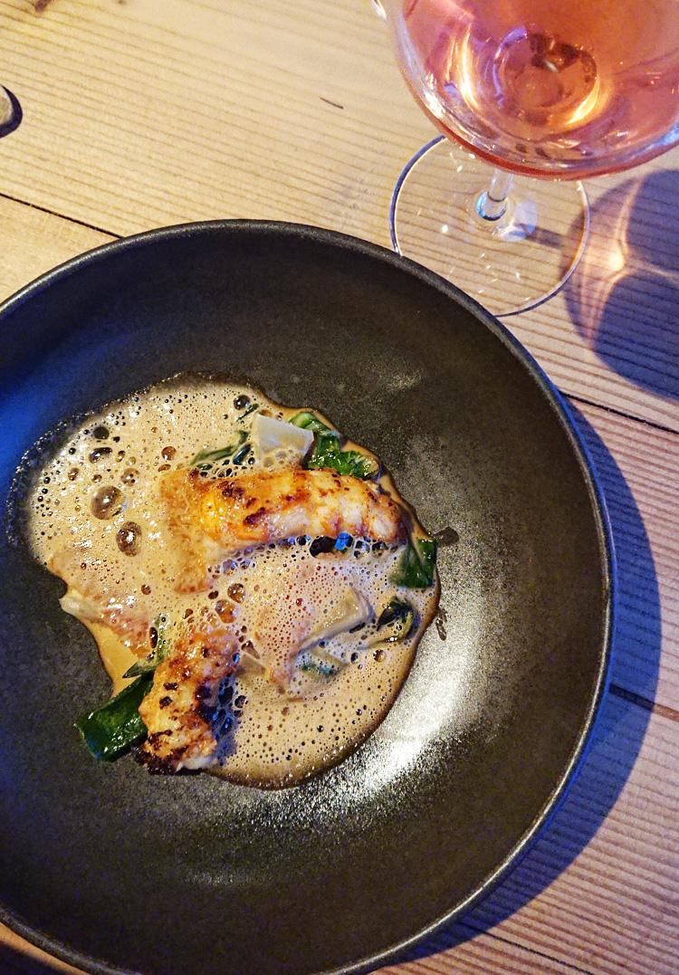 Restaurant Nordlandet menu forret - Bornholm guide