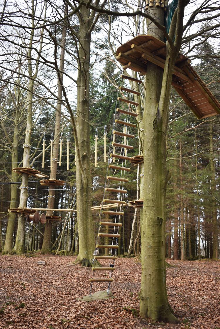 Til Tops Bornholm klatrepark - aktiviteter for børn - Bornholm Guide