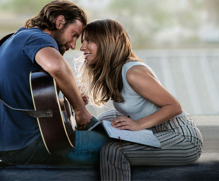 A Star is born - Bradley Cooper Lady Gaga