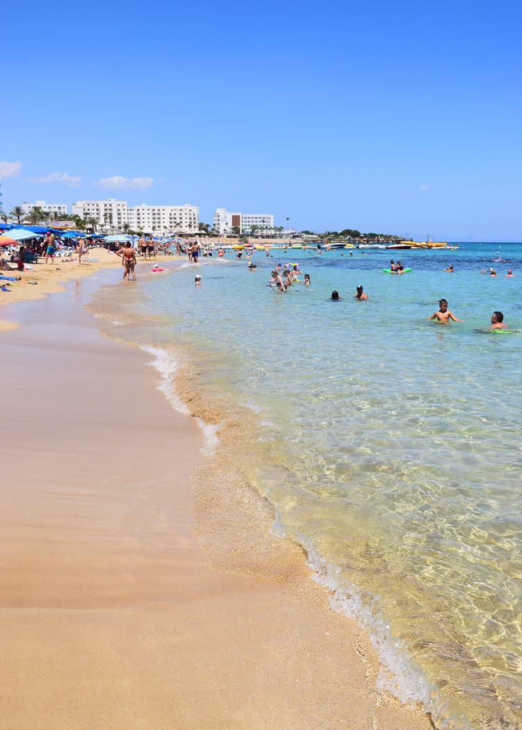 Cypern Cyprus Sunrise Beach