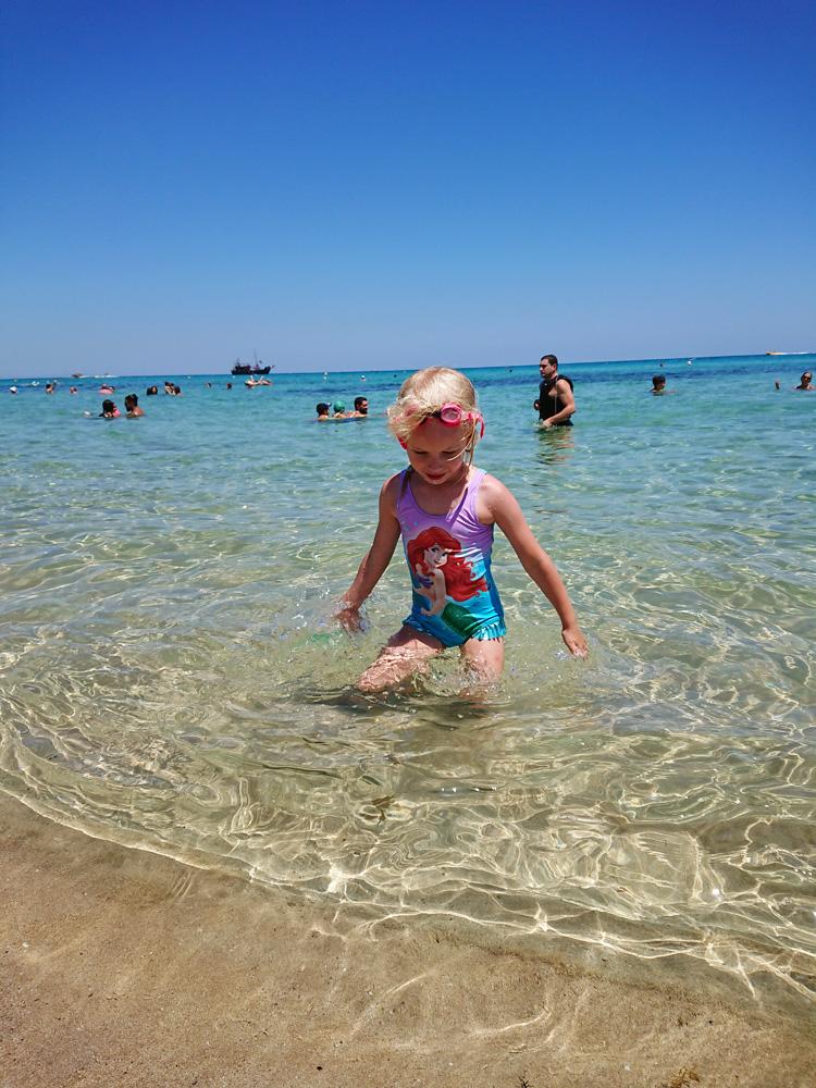Cypern Cyprus Sunrise beach strand