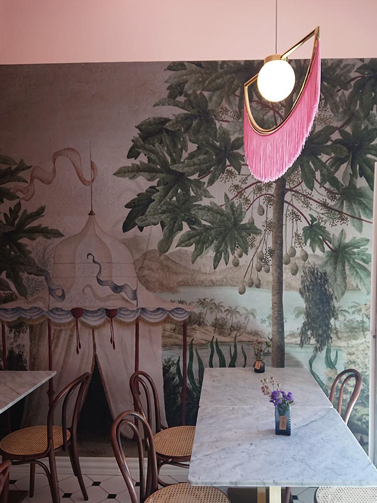 cafe Nouvelle Odense - art deco café