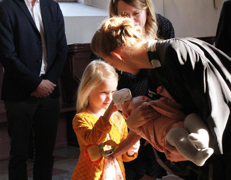 Dåb i Vor Frue Kirke Odense