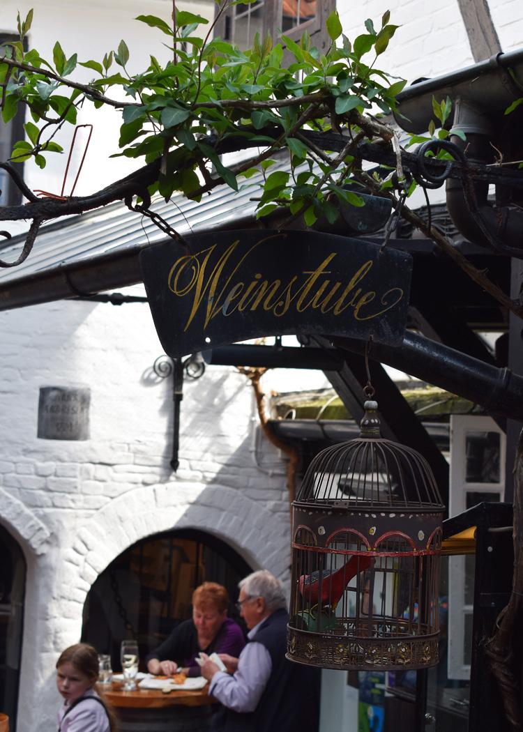 Weinstube Flensburg flammkuchen Flensborg guide