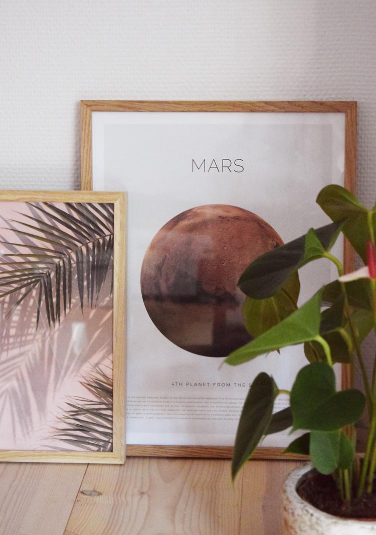 Desenio Mars plakat