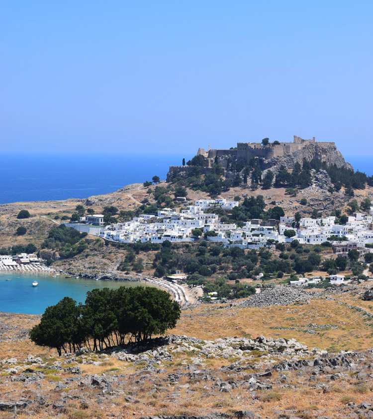 Lindos by Rhodos