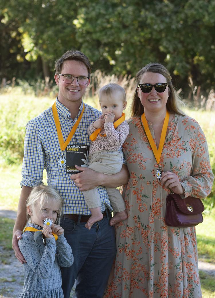 Margueriteløb 2019 Odense med familie