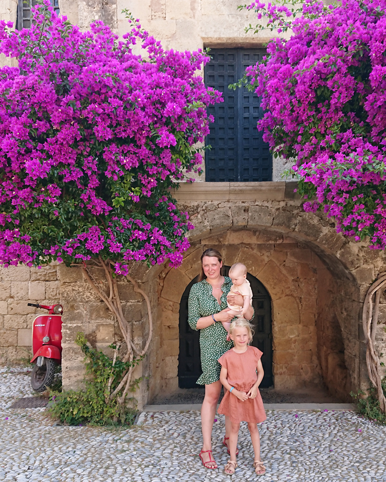 Den gamle by Rhodos Grækenland