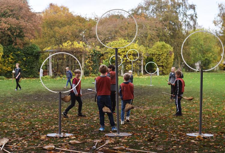 Magiske dage Odense 2019 quidditch kamp