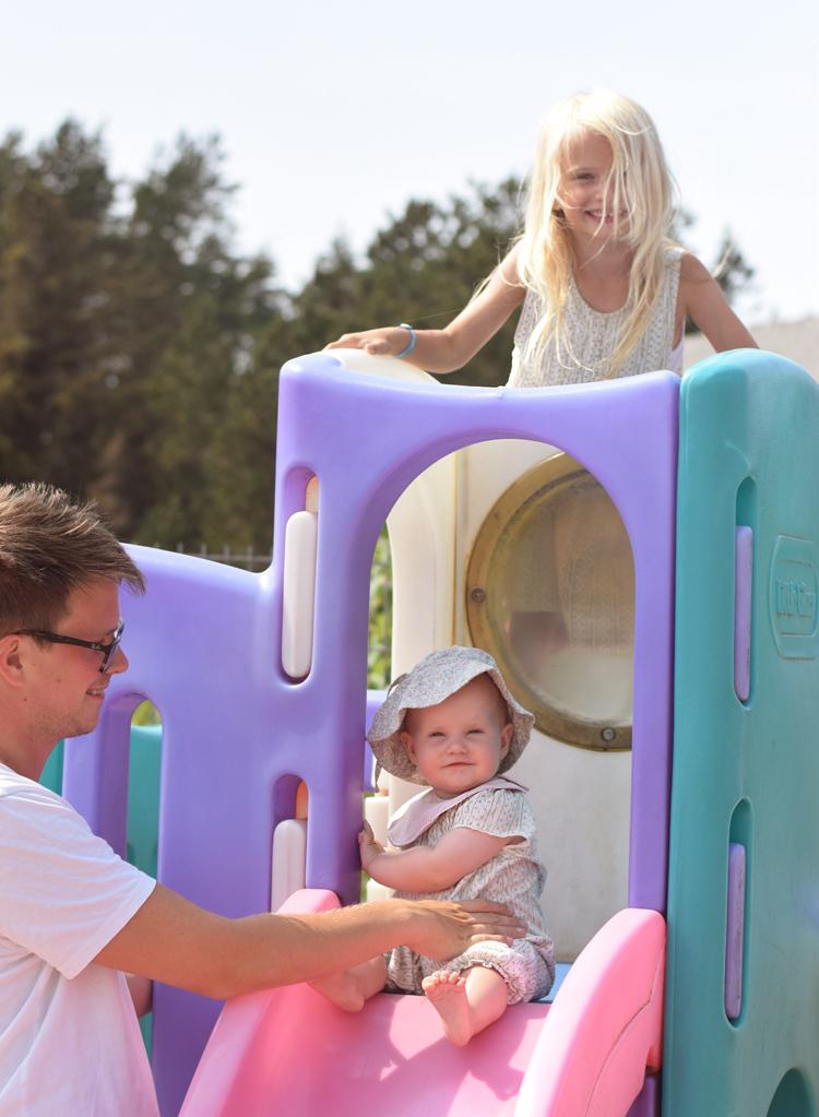 Råbjerg mile campingplads legeplads