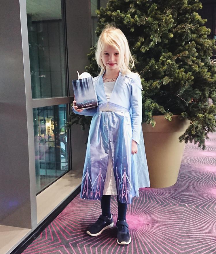 Frozen frost 2 Elsa kjole