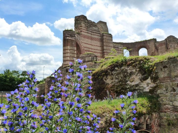 Trier roman spa ruin