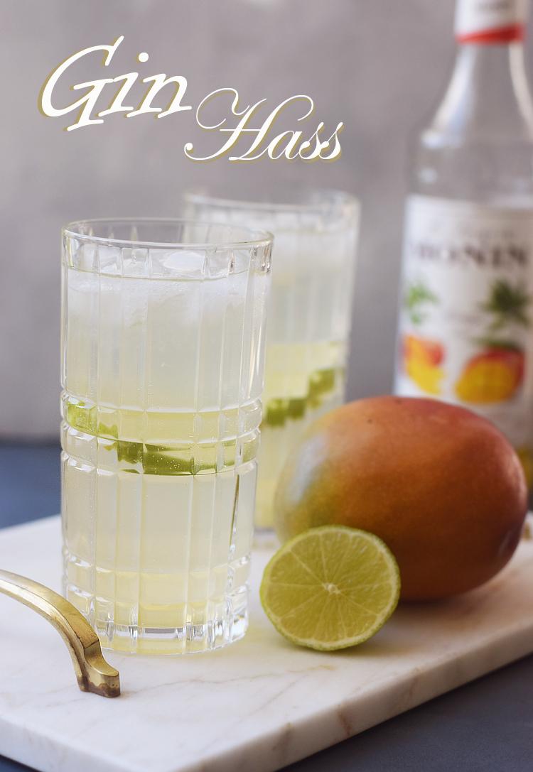 Gin Hass opskrift med mango