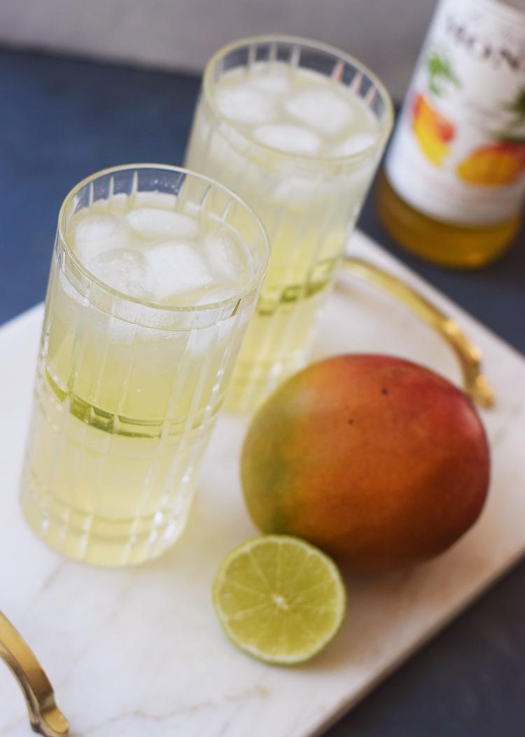 Gin Hass opskrift med mangosirup