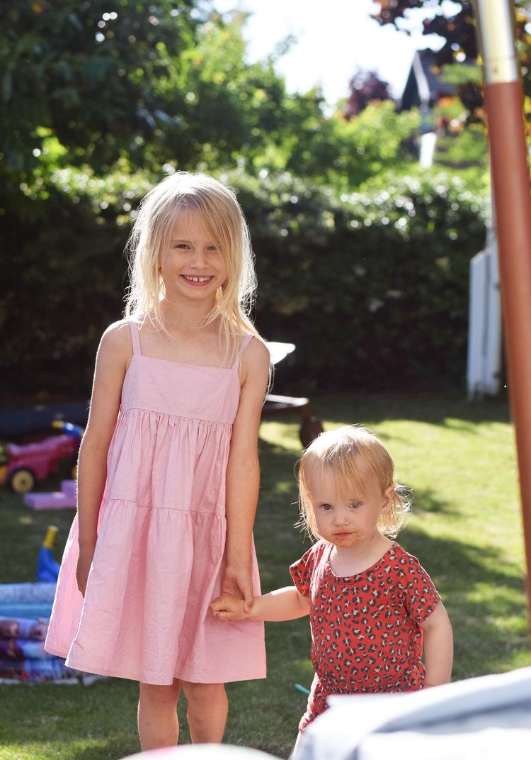 Christina Rohde lyserød kjole