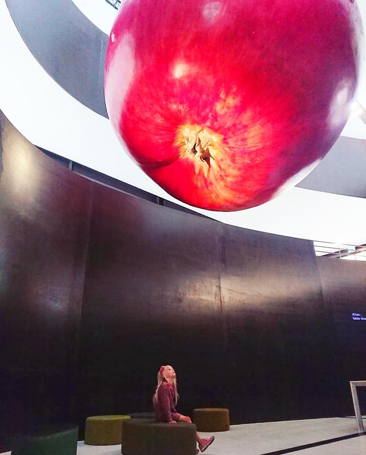 Møntergården Odense museum det store æble ingrid marie