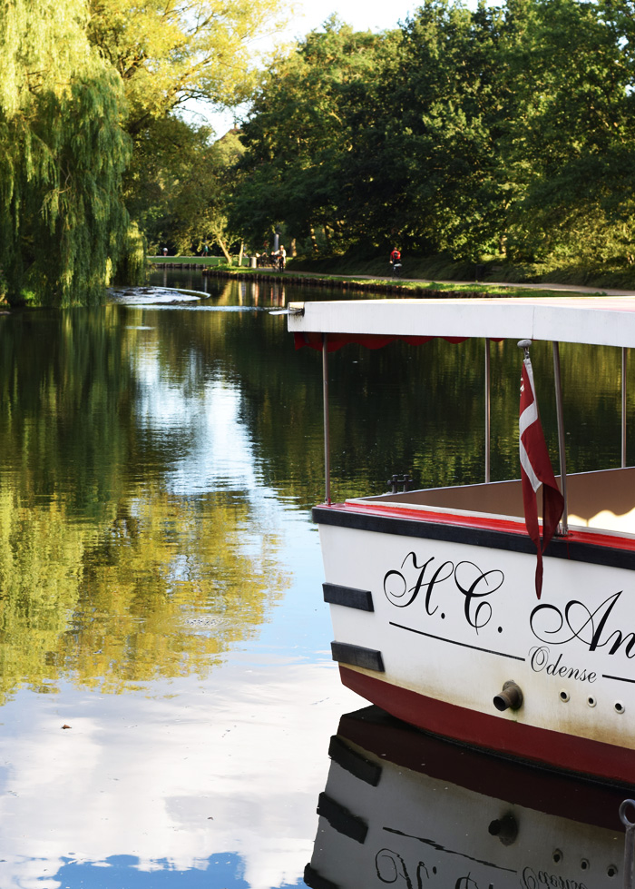 Odense åfart kanaltur odense å sommerferie