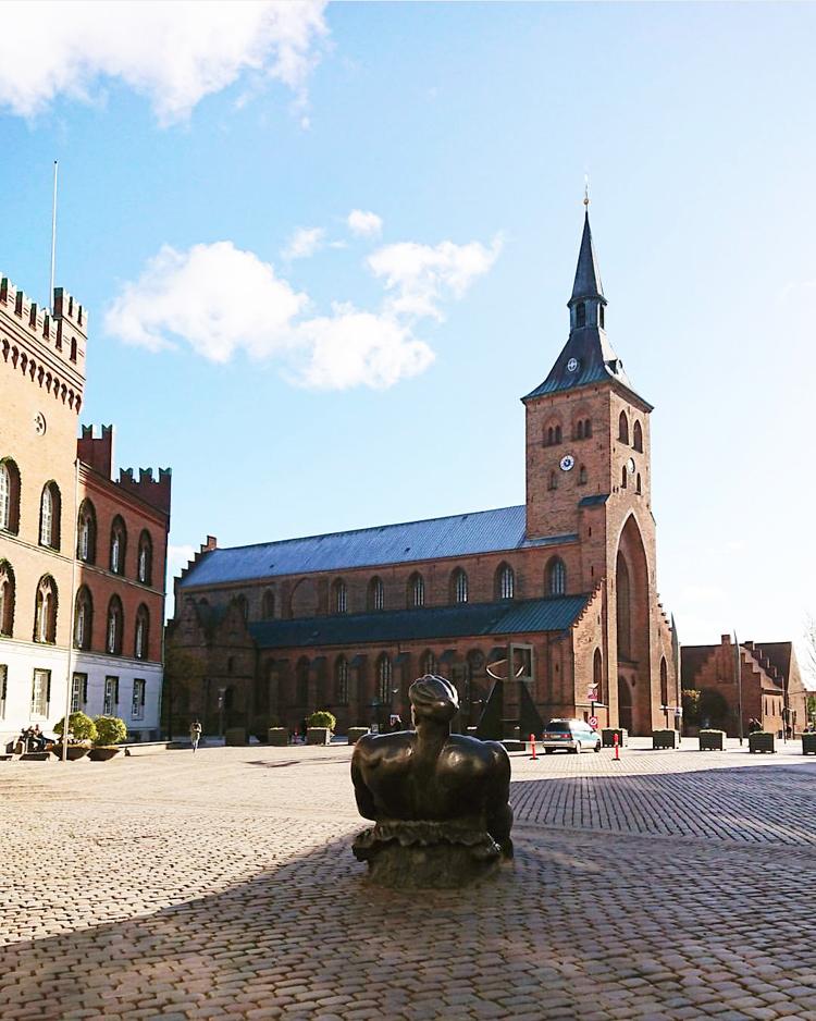 Sankt knuds kirke Odense flakhaven