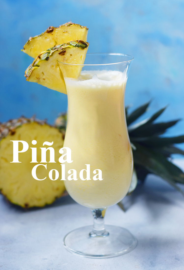 Piña colada opskrift med fløde