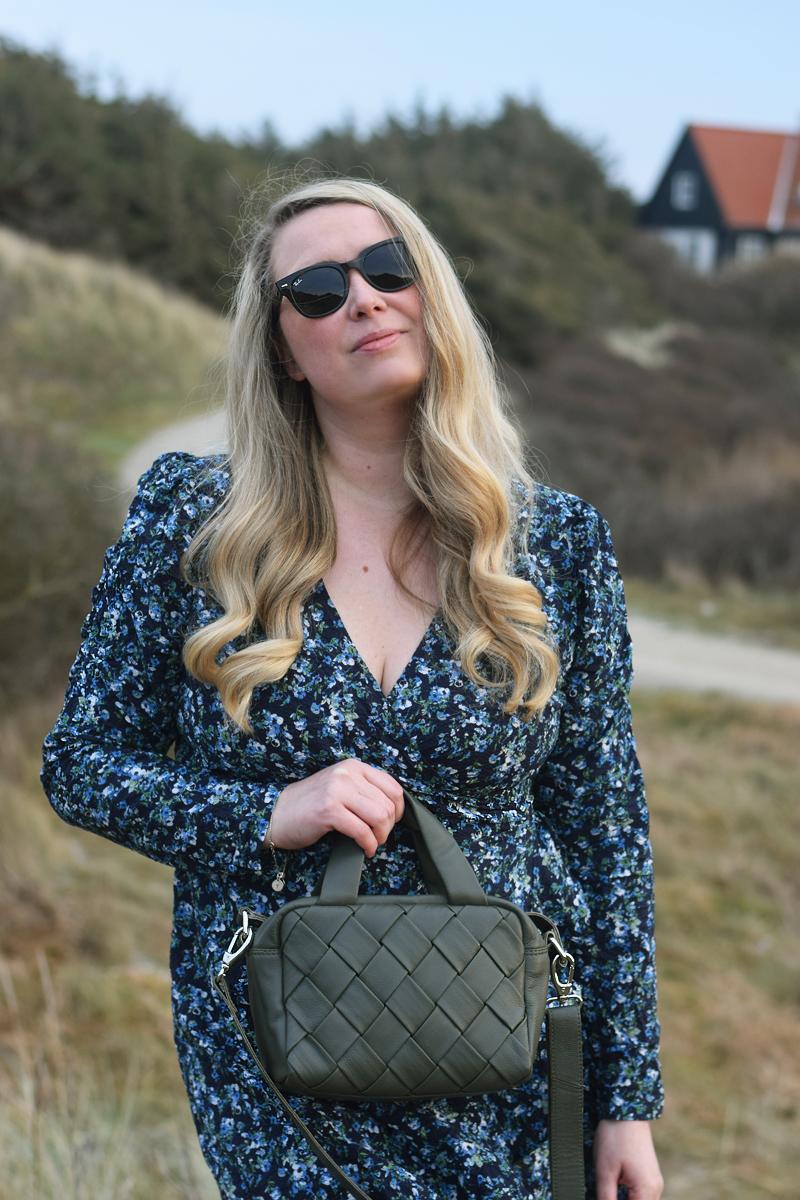 Neo Noir reeva kjole dress - Nunoo donna braided bag