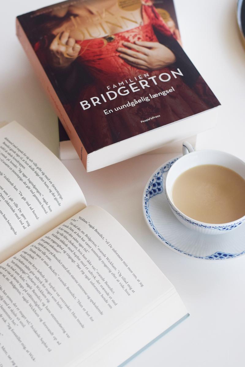 oversigt over alle Familien Bridgerton bøger