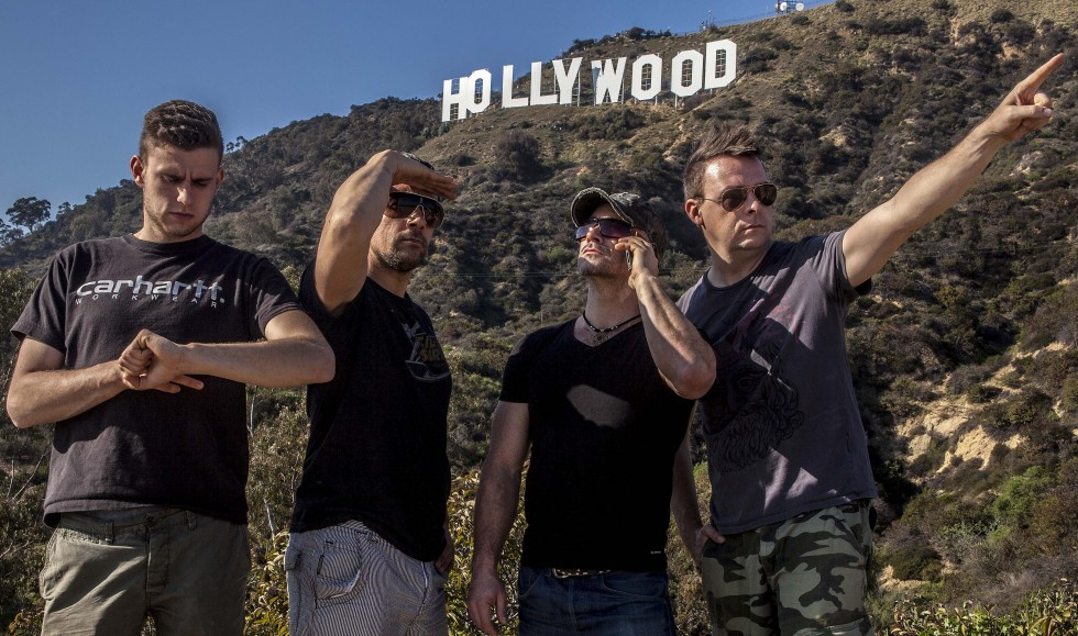 The Stunt Comedy crewet i Hollywood