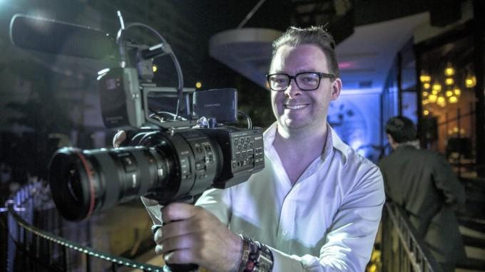 Jeg er meget glad! FS700 er virkelig et lækkert kamera at filme denne slags events på.