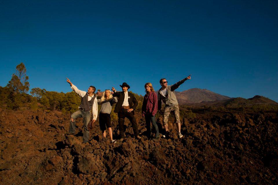 Optagelser på Tenerife i december 2011.